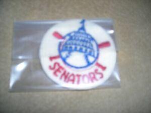 MLB 1960's Washington Senator, original vintage team uniform patch, excellent co
