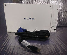 Elmo HV-110U DOCUMENT CAMERA W/ VGA  & USB Cables. No power adapter
