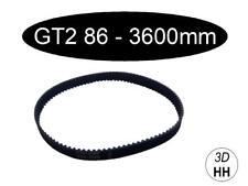 GT2 je nach Größe geschloßener 6mm Zahnriemen (Wahl 86mm - 3600mm)