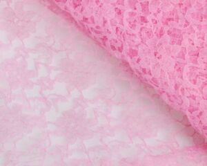 """Floral Soft  Lace Fabric 54"""" /138 cm Width Dress and Wedding Fabric UK seller"""