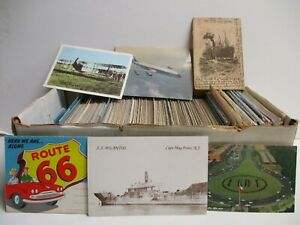 Box #9 - 600+ Transportation Postcards