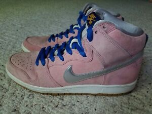 Nike x Concepts SB Dunk High Pro 'When Pigs Fly' Men's Size 10 Pink 554673-610