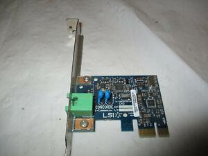 LSI PCI 56k AM3 DATA Fax Modem Concorde Anatel 54-6147 HP 503095-001