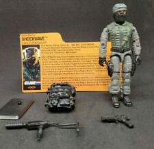 "GI Joe NIGHT FORCE SHOCKWAVE T""R""S Exclusive 100% Complete 1989 Hasbro w/card"