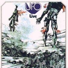 UFO - LIVE  CD  6 TRACKS CLASSIC ROCK / POP  NEW+