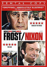 Frost/Nixon (DVD, 2009) - Good Condition - Ex Rental