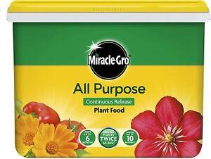 Miracle Gro All Purpose Continuous Release Plant Food 2Kg Plant Fertiliser 40m2