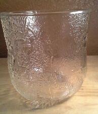 ARABIA FINLAND GLASS VASE ICE BUCKET PLANTER