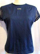 REEBOK WOMENS HYDROMOVE NAVY TOP SIZE LARGE