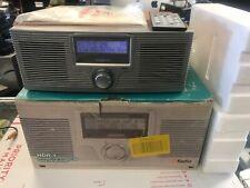 New open Box Sangean HDR-1 HD Radio W Remote FM RDS / AM Alarm Clock Woodgrain