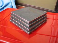 4x Stahlplatte, Ankerplatte,Grundplatte,Eisenplatte, 200x100x10mm