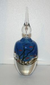 Australian Studio Glass Perfume Bottle - Eileen Gordon