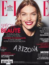 ELLE n°3742 08/09/2017 Arizona Muse_Spécial beauté_Bruni, Deneuve, Slimani & YSL