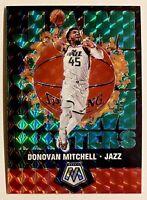 2019-20 Mosaic DONOVAN MITCHELL Jam Masters Green Prizm Refractor, SP, Utah Jazz