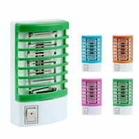 LED Mini Electric Mosquito Pest Bug Insect Trap Zapper Killer Light Night Lamp