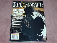 RUE MORGUE magazine # 54, The Hills Have Eyes, Wes Craven, Greg Nicotero