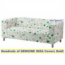 Ikea KLIPPAN Loveseat (2 seat sofa) Cover Slipcover MARREHILL PINK GREEN Sealed!