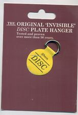 The Original Invisible Disc Plate Hanger - 30mm Size