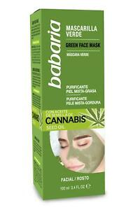Babaria Cannabis Sativa Oil Face Mask for oily combination skin 100ml