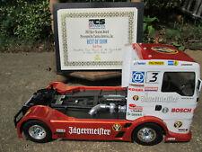 Tamiya 1/14 RC Racing MAN TGS #58632 TCS America Concourse Winning Body wh/tire