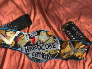 wwe hard core championship belt