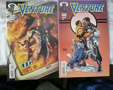 Venture (2) comic book lot Image Comics First two issues 1st printing