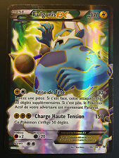 Carte Pokemon FULGURIS 98/108 Ultra Rare Full Art EX XY6 Française NEUF