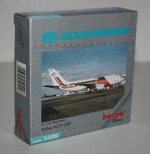 Herpa Wings-Airbus A310-300-ECUATORIANA-m/w Reg.-1:500-Sammlung-Modell #501118