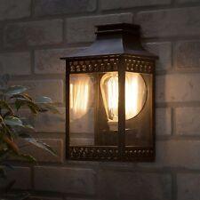 Outdoor Light 60w Black Mini Lantern by Homebase