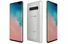 New listing New Prism White Verizon Gsm Unlocked 128Gb Samsung Galaxy S10+ G975U Phone Kh94