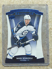 15-16 UD Contours Blue Parallel #84 MARK SCHEIFELE /499