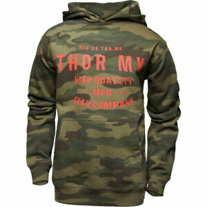 Thor Crafted Youth Fashionable Casual Wear Hoodie Camo Forest
