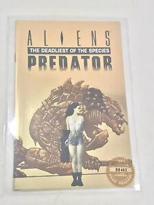 Hero Magazine 1993 Aliens Predator Gold Foil Ashcan Edition 00403 NM