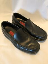 216f55cbe48 Cole Haan Country Mens Black Leather Slip On Loafer Shoe Size 11 M GUC A19