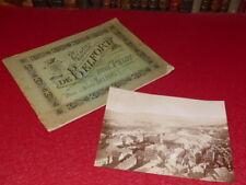 PHOTOGRAPHIES / ALBUM DE BELFORT Rare Ca 1880 + 1 albumen photo vue ville PELOT