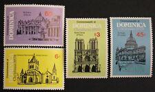 Timbre DOMINIQUE- Yvert et Tellier n°630 à 633 n** Mnh (Cyn31) Stamp