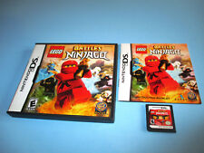 Lego Battles Ninjago (Nintendo DS) Lite DSi XL 3DS 2DS w/Case & Manual
