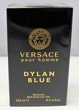 Versace Pour Homme Dylan Blue 8.4 oz/250 ml Bath & Shower Gel For Men New In Box