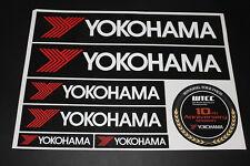 YOKOHAMA Neumáticos Neumático P Llantas de aluminio Adhesivo Pegamento Logotipo