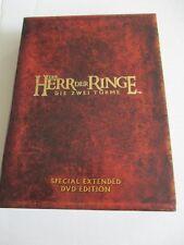 4 DVD Box Der Herr der Ringe Die Zwei Türme Special Extended DVD Edition