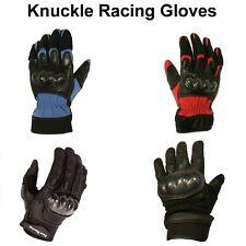 Carbon Fiber, Knuckle Bike Motorcycle Pro-Biker Motorbike Racing Gloves