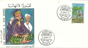 FDC and FDS Algeria 1974 5