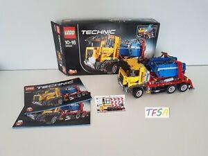 LEGO Technic 42024 Container Truck complet notice et boîte
