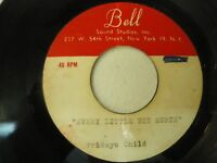 "Friday's Child  Rare 1960's Unreleased Garage Psych  45 7"" Acetate"