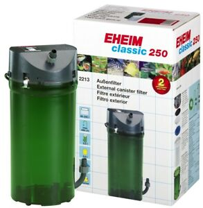 Eheim Classic 250 External Canister Filter #2213 With Media