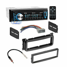 Boss Bluetooth Car Radio Stereo Dash Kit Harness for 2002+ Chrysler Dodge Jeep