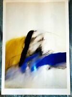 Litografìa de Zobel Fernando - Dos de Mayo IV- 1984- Del Museo Arte Abstracto Es