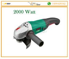 SMERIGLIATRICE ANGOLARE 230 FLEX  FLESSIBILE VERTO 2000 Watt garanzia 2 anni