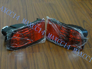 2PC Rear Bumper Light Reflector lamp For Toyota 4RUNNER 2002-2009 2008 2006 2007