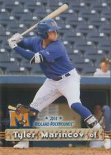 2018 Midland RockHounds Tyler Marincov RC Rookie Oakland Athletics